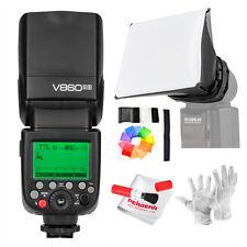 Godox V860II-S TTL GN60 HSS 1/8000s Speedlite Flash w/ Li-ion Battery for Sony