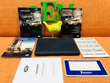 06-12 Land Rover Defender Owners Manual 90 110 130 Soft Hard Wagon Pickup 2Dr 4D
