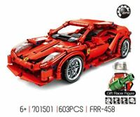 Ferrari F1 Racing Car building blocks Technic Racer cars Supercar kids toy gift