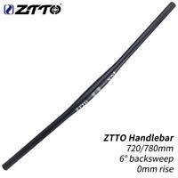 ZTTO 31.8mm Bicycle Handlebar 720/780mm MTB Aluminum Alloy Handlebar 6° Flat Bar