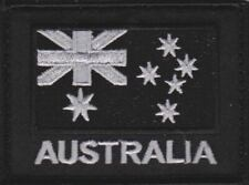 Australian Flag Patch ADF ANF Special Forces Black Army Patch Military