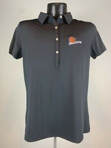 Women's Phoenix Mercury WNBA Basketball Black Ring Of Honor Golf Polo L NWOT