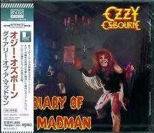 OZZY OSBOURNE DIARY OF A MADMAN CD - 2013 JAPAN RMST Blu-Spec CD2 RANDY RHOADS