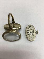 Ebel 18k White Gold Watch Ring