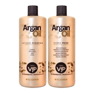 Argan Oil 2x1000ml Brazilian Keratin - New Vip