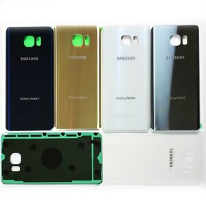 Replacement Back Glass Rear Battery Cover w.Adhesive for Samsung Galaxy Note 5