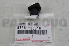 8538168010 Genuine Toyota NOZZLE SUB-ASSY, WASHER 85381-68010