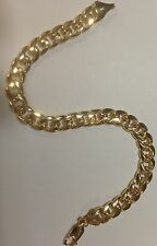 "14k Yellow Gold Miami Cuban Curb Link 8.5"" 5.3mm 7 grams Bracelet HMC150"