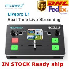 Feelworld LIVEPRO L1 Video Switcher Multi-Format HDMI 4 Channel Live Broadcast
