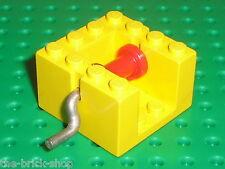 Treuil LEGO vintage yellow winch x378c01 / set 355 404 912 402 730 383 911 134..