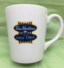 New Rare Limited Edition TIM HORTONS Buffalo Sabres Ceramic Coffee Cup Mug 2014