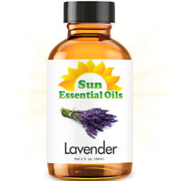 Best Lavender Essential Oil 100% Purely Natural Therapeutic Grade 2oz