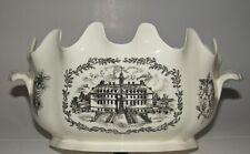 RARE Wedgwood Colonial Williamsburg Restoration Punch Bowl Monteith Virginia