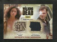 The Walking Dead Season 3 Part 2 Authentic Dual Wardrobe Card DM3 Karen Governor
