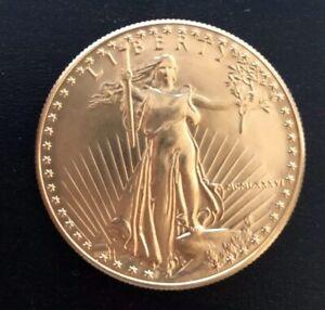 ETATS-UNIS OR 50 DOLLARS EAGLE 1 Oz - 1 Once USA 1986 MCMLXXXVI