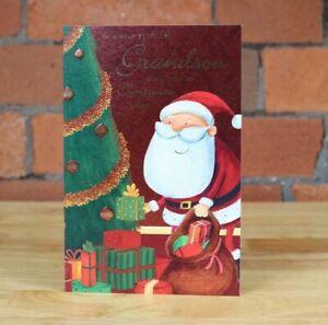 Christmas Card, Grandson
