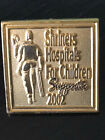 Vintage Collectible Shriner Hospital 2002 Colorful Metal Pin Back Lapel Pin