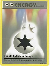 POKEMON XY EVOLUTIONS CARD - DOUBLE COLORLESS ENERGY 90/108