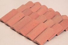 Dollhouse Barrel Roof Tiles 60 Pieces Pellegrini Made in Italy