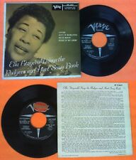 LP 45 7'' ELLA FITZGERALD Lover Isn't it romantic Blue moon no cd mc dvd vhs