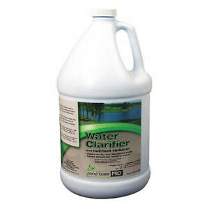 POND BOSS PRO 54288 Pond Water Clarifier/Nutrient Red,1 gal.