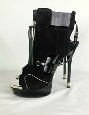 RARE GIANMARCO LORENZI HIGH HEEL SPIKE SEXY BOOTS MADE IN ITALY WOMENS SIZE 9