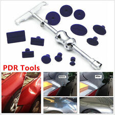 Car Paintless Dent Repair Removal Tool Kit  PDR Puller Lifter T-Bar with 12 Tabs