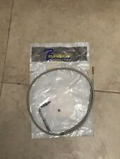 Barnett Stainless Steel Braided Clear Coated Idle Cable Harley Davidson 56337-83