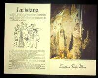 Vintage Southern Pacific Railway Dining Car Luncheon Menu 1947 Louisiana
