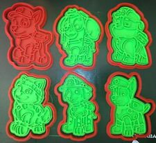 Paw Patrol Cookie Stamps & Cutters set of 12