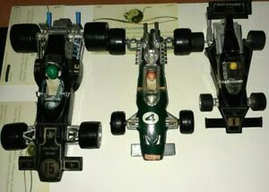 LOT 3 VINTAGE FORMULA 1 MODEL RACING CAR MEBETOYS LOTUS FORD,TYRREL DUCKHAMS,BRM