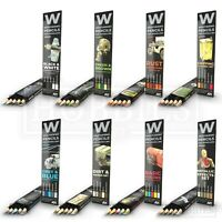 AK Interactive Weathering Pencils Sets Shading Effects Dirt Rust Chipping Colour