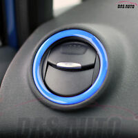 Ford Fiesta MK7 7.5 6 Blue Gel Heater Vent Rings Overlay Badge Zetec ST3 Line sb