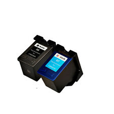 2PKs HP 56 57 Ink Cartridge Combo For Photosmart 7150 7260 7660 7755 7760 7960