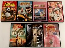 Lot Of 7 DVD Children X Men Andy Griffith Kung Fu Panda The Lucy Show Journey 2