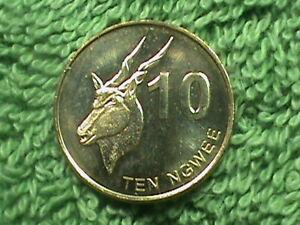 ZAMBIA   10 Ngwee   2012   UNC   *