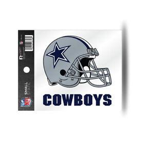 Dallas Cowboys Helmet Static Cling Sticker NEW Window or Car! 3x4 Inches
