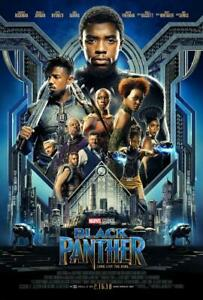 Black Panther Movie Poster Print Wall Art 8x10 11x17 16x20 22x28 24x36 27x40