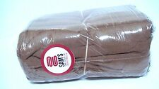 PACK OF 100 BRAND NEW CHOC. BROWN SHOP TOWELS FOR INDUSTRIAL USE (LONG LASTING)
