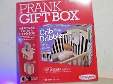 "New Joke Gift Box - Crib Dribbler Gift box ( 11.25"" X 9"" X 3.25"" ) Free Ship"