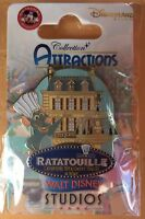 PIN Disneyland Paris ATTRACTION RATATOUILLE OE