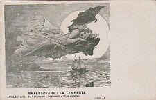 """# TEATRO - SHAKESPEARE """"LA TEMPESTA""""  ARIELE...D'UN VIPISTREL atto 5"""