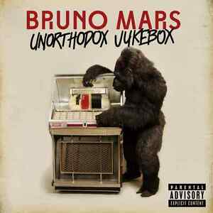 BRUNO MARS ( NEW SEALED CD ) UNORTHODOX JUKEBOX ( LOCKED OUT OF HEAVEN ) [PA]