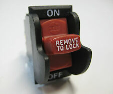 Power Tool Toggle Switch 20Amp 2 HP Rockwell Delta Dewalt Ryobi Craftsman DPST