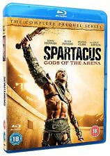 SPARTACUS: Gods Of The Are Season Series 2 Blu ray RB not a DVD New & Sealed