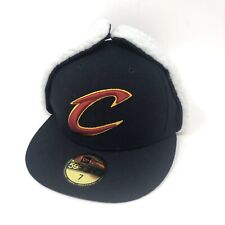 Cleveland Cavaliers New Era 59FIFTY Dog Ear Flurry Fitted Hat Cap Size 7 NBA