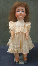 Antique Bisque Heubach Koppelsdorf Doll 312  Ball Jointed Body 17""