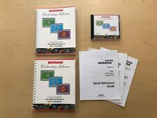 Bernina Embroidery Software Version 4 (V4) Installation Cd and User Manuals