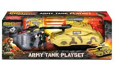 Combat Mission Army Tank Playset Military Base Soldier Attack Children Toy Gift