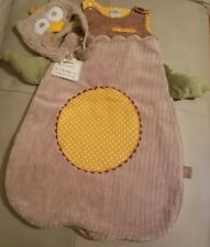 Baby Aspen, My Little Night Owl Snuggle Sack and Cap, 0-6 Months , New, Free Shi